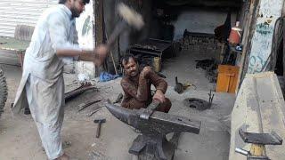 Restoration an old Hino 6 wheeler, chassis repairing, Hino truck