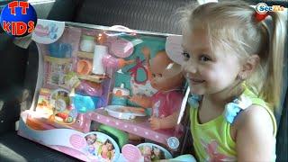 ✔ Nenuco Baby Doll. Girl Yaroslava is buying a Toy. Новая Кукла для Ярославы. Серия 39 ✔