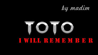 Toto - I will remember (lyrics)
