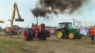 Tractor Pulling | MTZ 50 vs John Deere | Traktor Show 2018 | Full Power