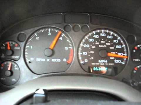 GMC Jimmy 4.3 Top Speed - YouTube