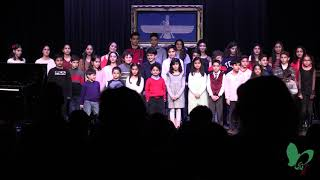 """""""Ey Iran"""" anthem by the Chicago Persian School students and alumni."""