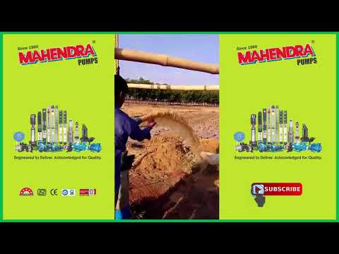 Mahendra Pumps Performance Video - 7 | Agriculture pumps | Submersible Pumps