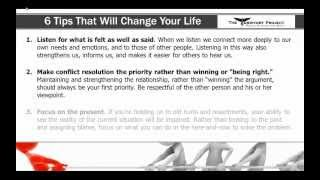 Conflict Resolution Strategies Video