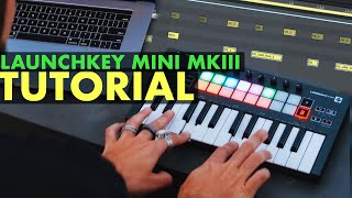 How to Perform with Launchkey Mini MKIII & Ableton LIVE Beat Making Tutorial