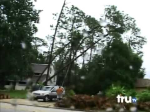 ... That Falls Destructs House Shed and Car Vehicle Epic Fail - YouTube
