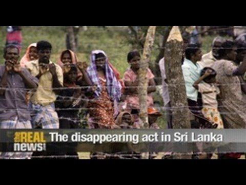 The disappearing act in Sri Lanka Pt1