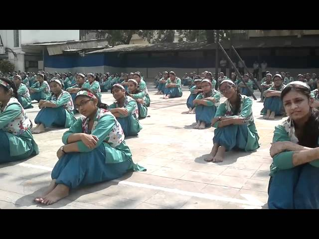 BALLYGUNGE SHIKSHA SADAN -- MASS DRILL DISPLAY Travel Video
