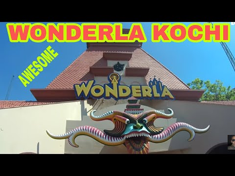 Wonderla Amusement Park Kochi || Worderla Kochi || HD