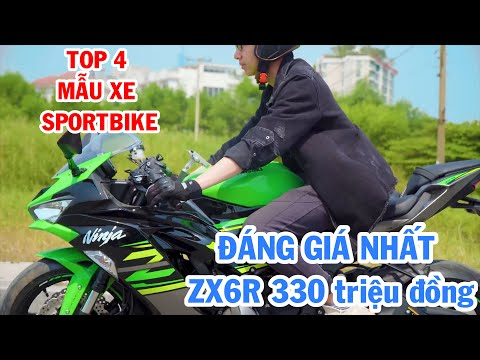 Top 4 mẫu xe Sport-bike 600cc đáng giá nhất