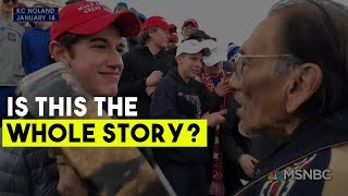The Media Got It Wrong New Footage Busts Claim That MAGA Hat Students Antagonized Native American