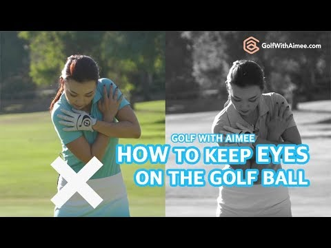 keeping-eyes-on-the-golf-ball-|-golf-with-aimee