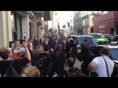 Dan Aykroyd in London