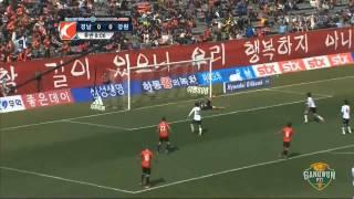 K리그 클래식 8라운드 강원FCvs경남FC 하이라이트