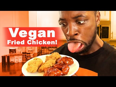 How To Make Vegan Fried Chicken - Cooking With A Comedian @PreacherLawson thumbnail