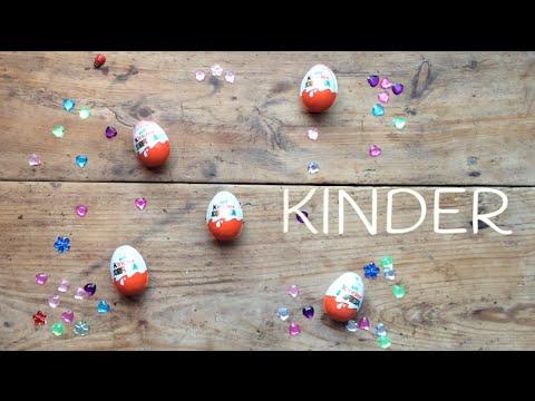 Huevos Kinder Sorpresa, descubriendo sus tesoros