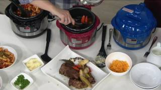 CooksEssentials 2qt Stainless Steel Pressure Cooker on QVC