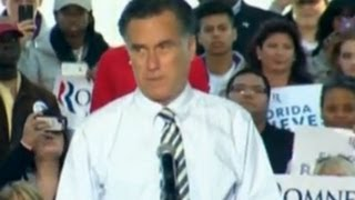 Mitt Romney back on US election campaign trail in Florida