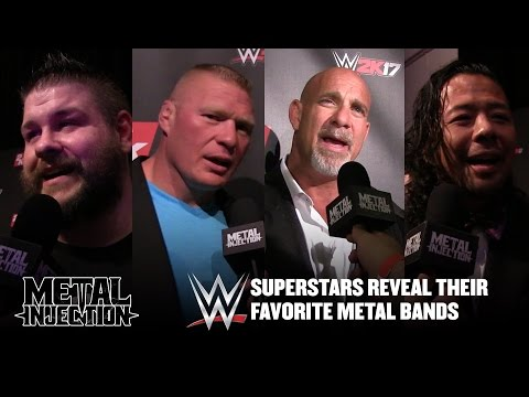 WWE Superstars Reveal Their Favorite Metal Bands | Metal Injection