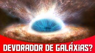 Buracos Negros Podem Acabar Engolindo Suas Galáxias? | AstroPocket News