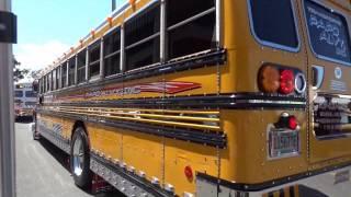 Jeeps & Guaguas Escolares en la Feria de Carolina 2015