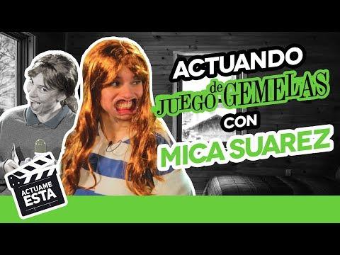 MICA SUAREZ CONOCE A SU GEMELA   ACTUAME ÉSTA: Juego de Gemelas   Hecatombe! - Hecatombe Producciones