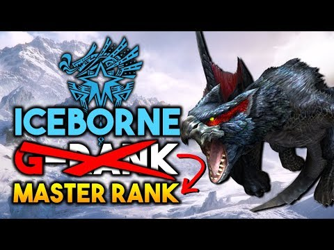 Monster Hunter World Iceborne will NOT Have G-RANK , MASTER-RANK Will Take Its Place INSTEAD thumbnail