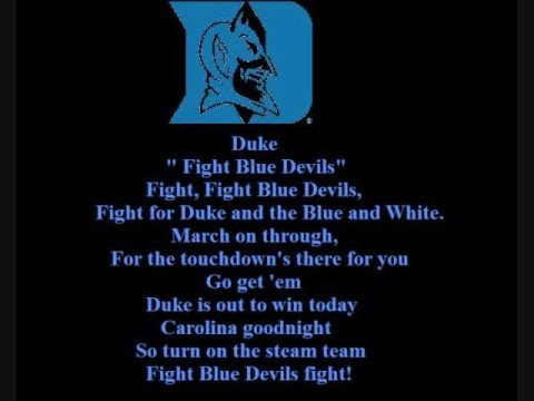 Duke Blue Devils Fight Song