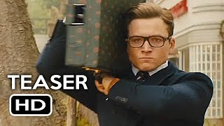 Kingsman 2: The Golden Circle Teaser Trailer #1 (2017) Taron Egerton, Channing Tatum Action Movie HD