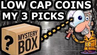 Microcap Coins. High Risk High Reward. My 3 Picks Are…