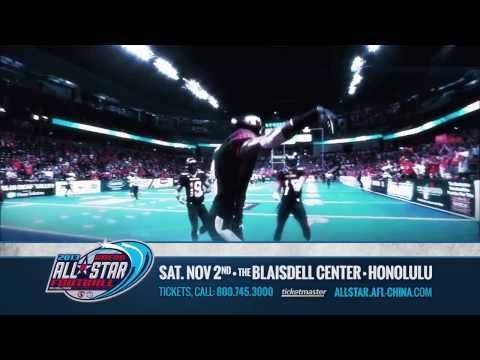 AFL China Arena All Star Game (Honolulu) - TV Spot