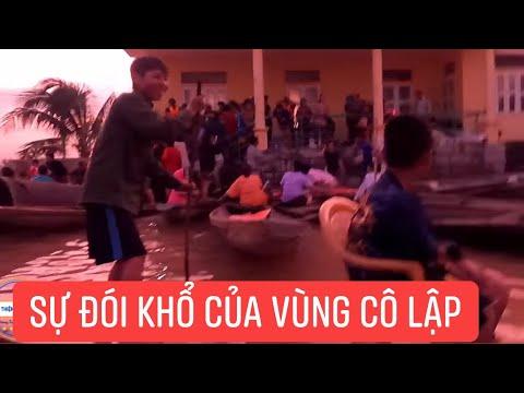 Tiếp Tục Vận Chuyển Nước Và Cơm Vào Những Vùng Cô Lập Ở Miền Trung, Khương Dừa Bị Thất Thủ