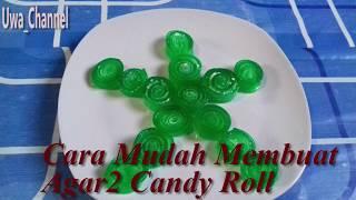 Resep Agar agar Candy Roll