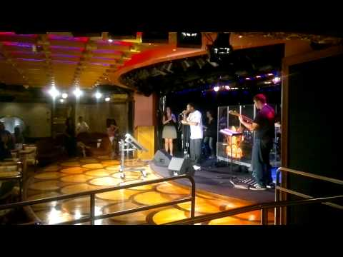 Ship Carnival Liberty Karaoke contest. Final!!!