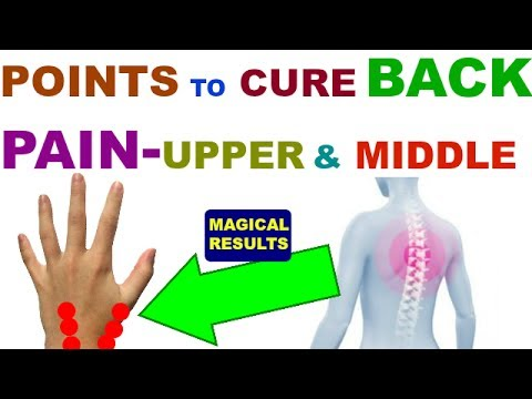 Sujok Therapy For Back Pain ||UPPER & MIDDLE BACK PAIN ...