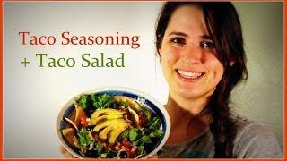 Diy Make Your Own Taco Seasoning + Taco Salad