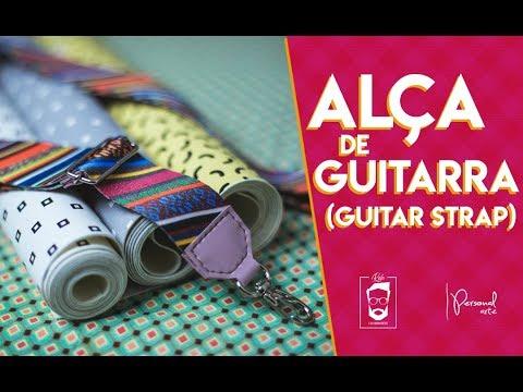 alÇa-guitarra-(guitar-strap)- -personal-arte-#7