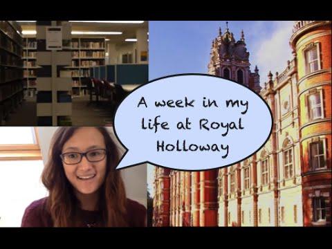 A Week in My Life: Final Year Student at Royal Holloway
