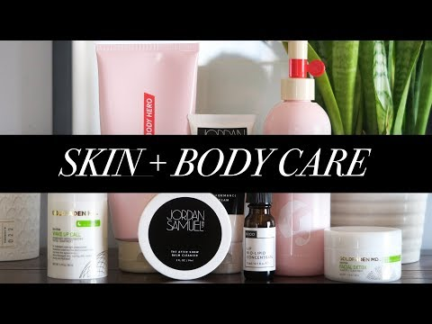 Skin + Body Care Updates | Ft Jordan Samuel, Glossier, NIOD + Goldfaden MD