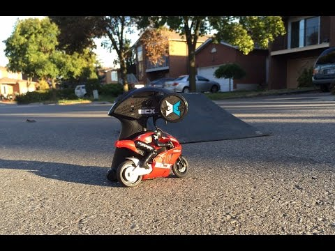 First Run with my New ECX Outburst 1/14 Motorcycle