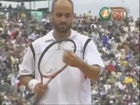 Andre Agassi - A. Medvedev - Final French Open (Roland-Garros), 1999