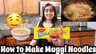How People in India Make Maggi Noodles | Nina's Kitchen ! | Easy Recipe