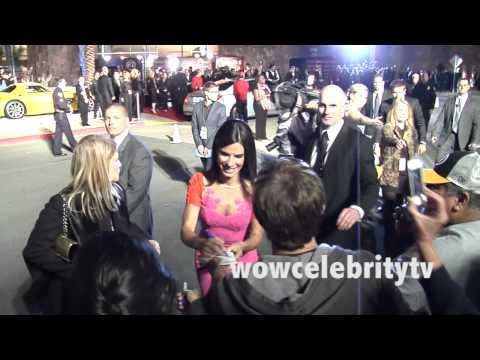 Sandra Bullock Greets fans at the 2014 Palm Springs International Film Festival