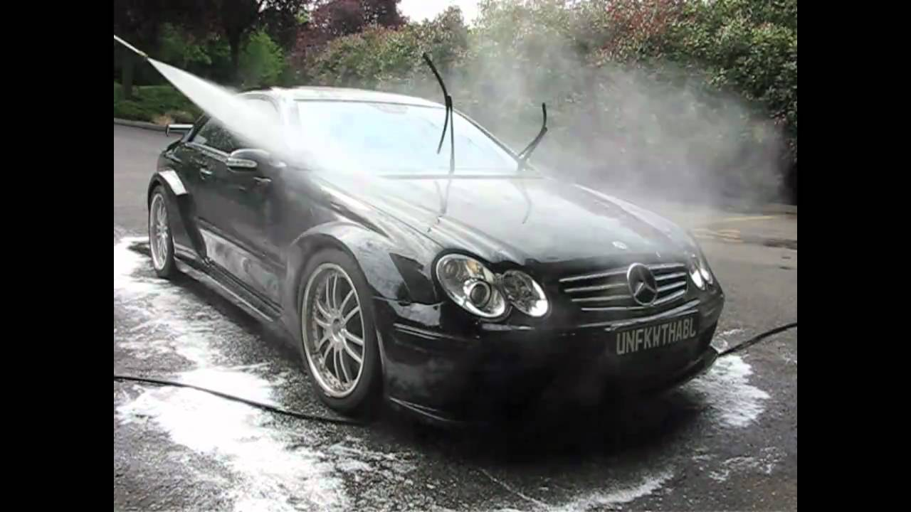 hand wash and snow foam on mercedes benz clk dtm seattle auto detailing youtube. Black Bedroom Furniture Sets. Home Design Ideas
