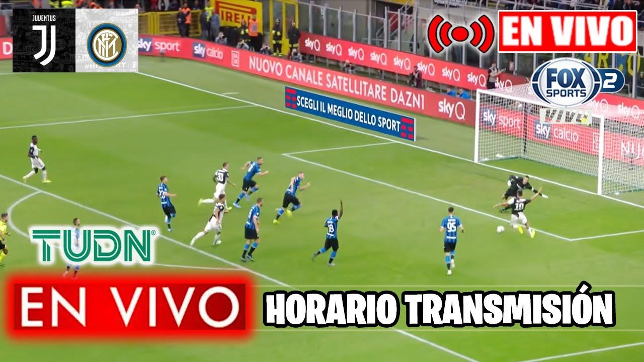 Juve Vs Inter En Vivo Espn 2020 Youtube