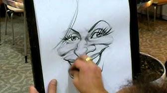 Show karikaturist, Event S Schnellzeichner- Samir Georgy