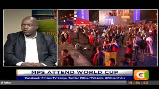 MPs attend World cup #CitizenExtra