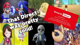 A Satisfying Direct! - Nintendo Direct 9.4.19 Thoughts & Impressions