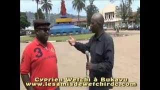 Mwana Bruxelles à Bukavu avec Cyprien Wetchi