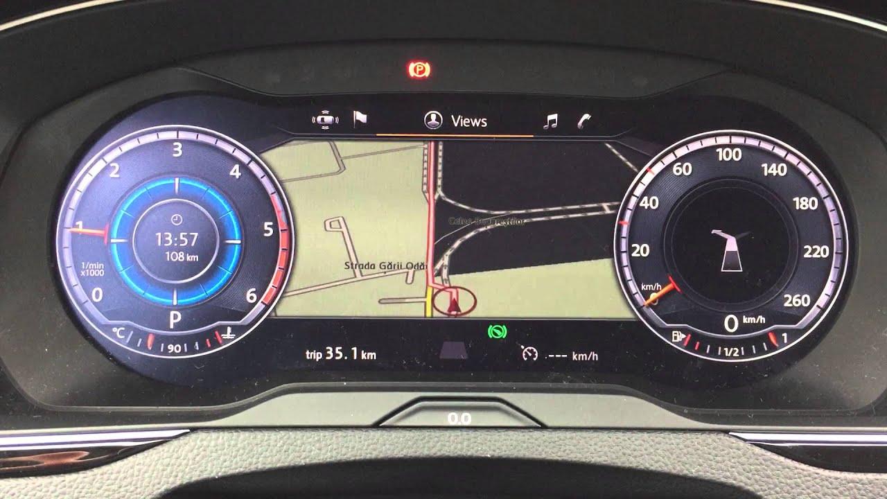 2015 Volkswagen Passat Active Info Display Youtube
